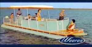 Weeres Pontoon Boat