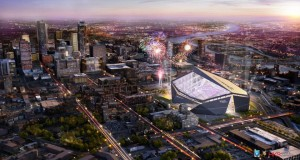 US Bank Stadium Design Rendering