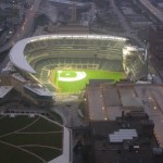 First Baseball Game Played At Target Field