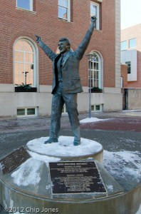 Herb Brooks Statue - St. Paul, MN