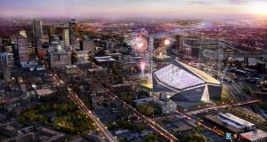 US Bank Stadium Design Rendering